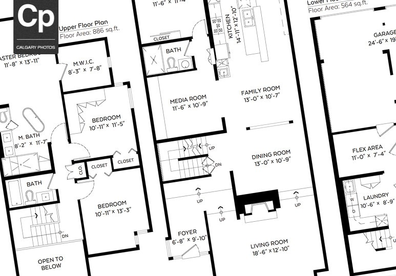 2D Floorplans and Measurements