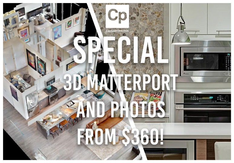 SPECIAL!! Matterport and Photos