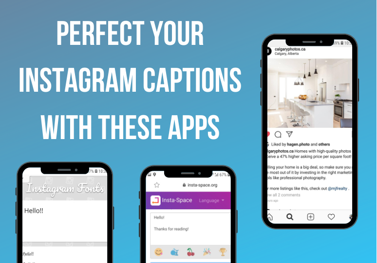 Perfect your Instagram Captions with these apps