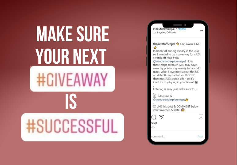 Follow these tips to run a successful Instagram Giveaway!
