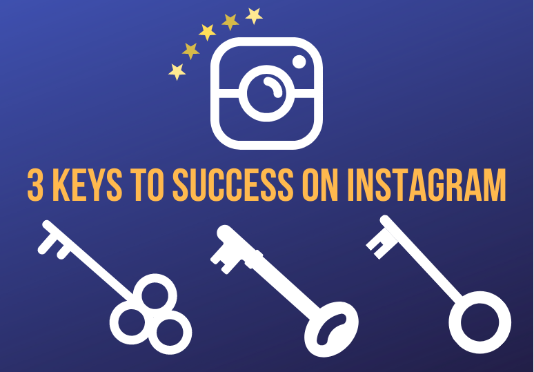 3 Keys to Success on Instagram