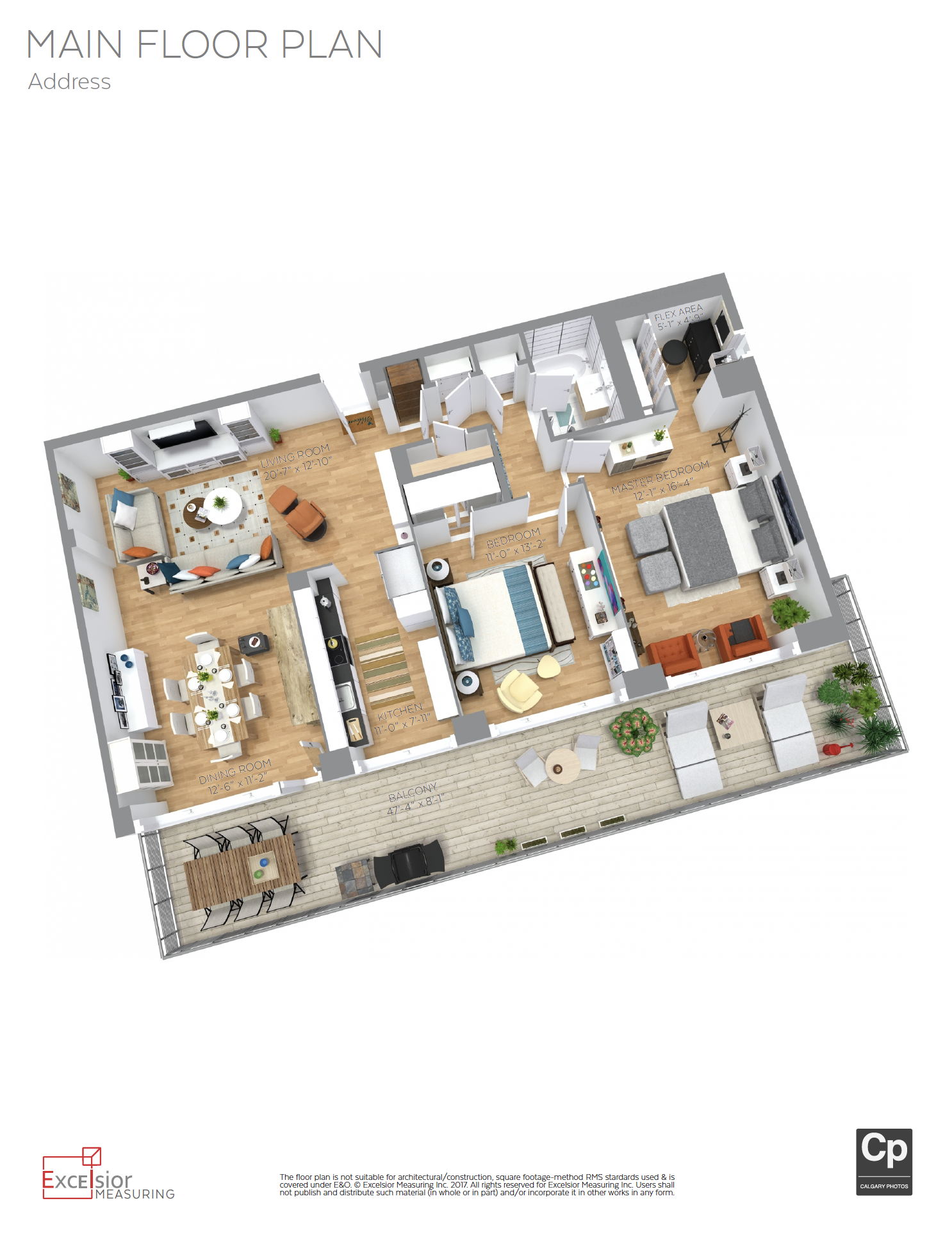 3D Floorplans and Measurements